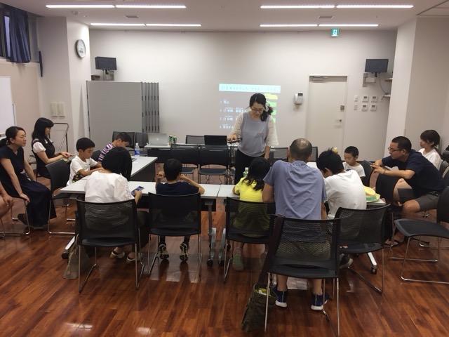 2018年7月22日 親子プログラミング体験会